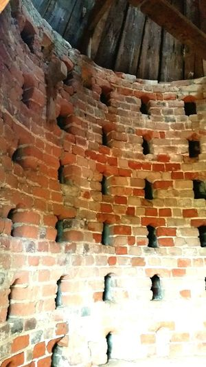 Brick Wall No People Textured  Architecture Nature Dovecote Dove Historic Shirley Plantation Virginia