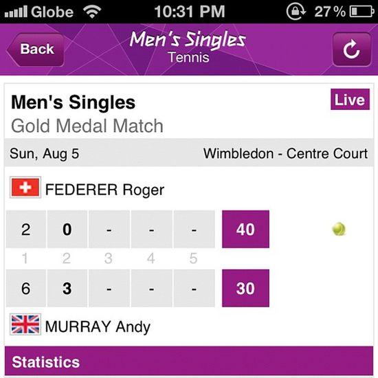 Tagilid hampang hw!! Gold Federer