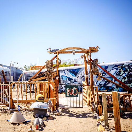 NO East Jesus Slab City Salton Sea Other Desert Cities Art Deserts Around The World Desert Life Travel