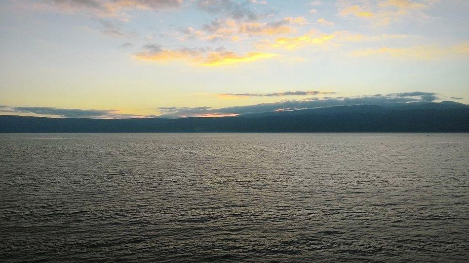 Sunrise behind Sicily First Eyeem Photo