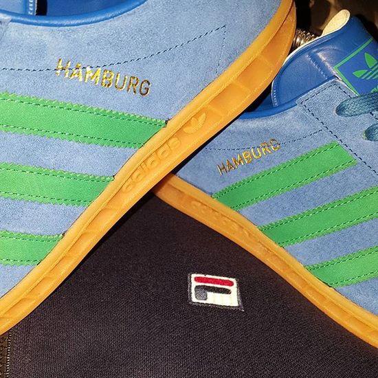 Sorted for going out 👍😎Fila Adidasoriginals Hamburg Adidashamburg Adicasual