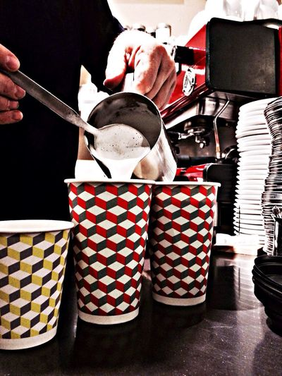 Delicious Coffee in beautiful Coffee To Go Cups Happy Cups