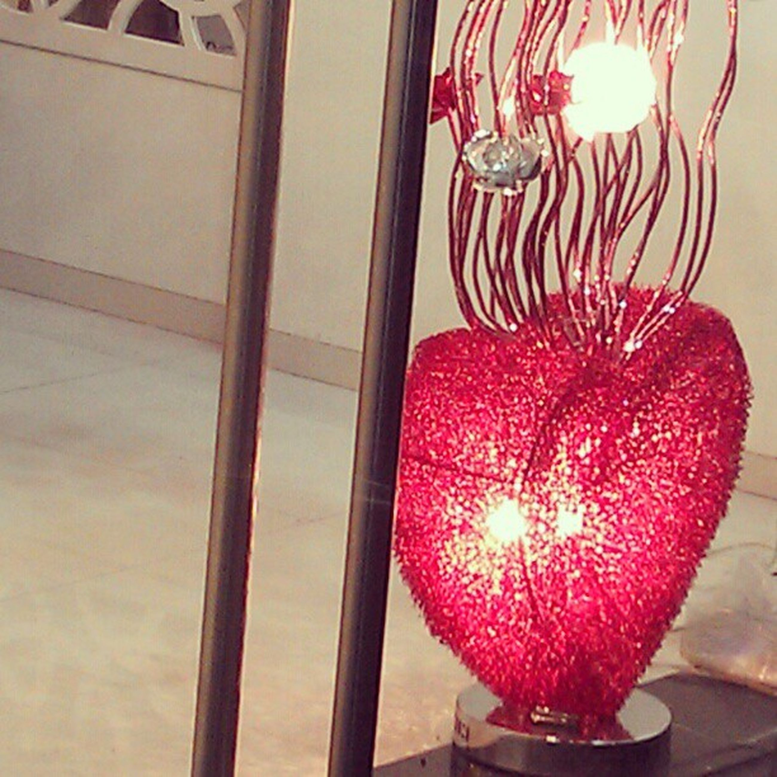 indoors, decoration, illuminated, lighting equipment, glowing, candle, celebration, home interior, glass - material, red, table, hanging, close-up, decor, no people, pink color, still life, flower, christmas, lit