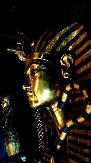 EGYPT Vacations Tourism No People Travel Destinations Architecture Egypt Indoors  Night Illuminated Close-up Egyptian Pharaohs Pharaoh History King Tutankhamun Museum Cairo Louxor Tomb