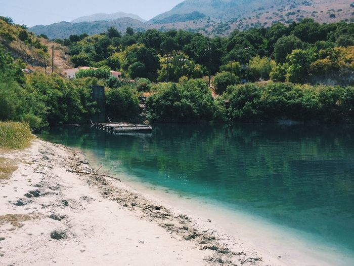 The same lake but another side Kournas Peace And Quiet EyeEm Nature Lover Nature_collection Nature Traveling Travel Water Reflections Crete Enjoying Life