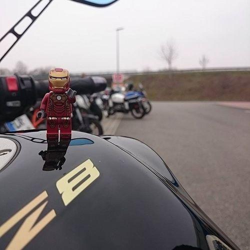 Season  Opening Motorcycle Tour at 7 Degree . Yes we Will LEGO Minifigures Ironman Yamaha FZ8