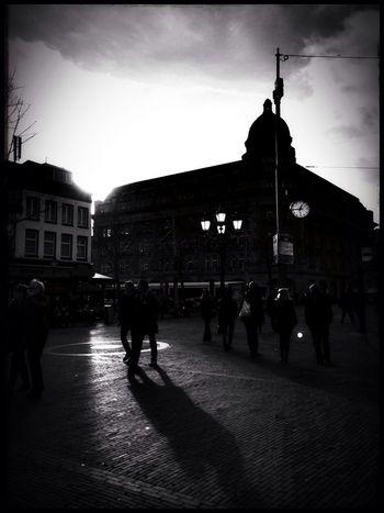 On my way to work. Amsterdam LeidsepleinCitylife