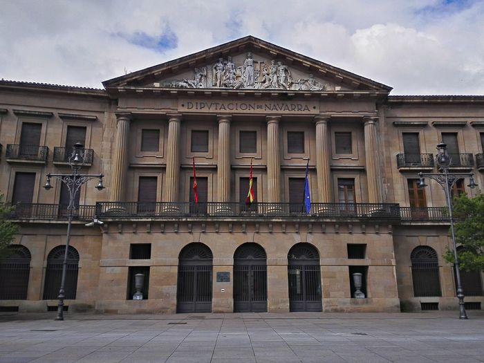 Diputación de Navarra Pamplona, Edificios Públicos, Navarra, Spain, España