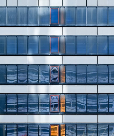 Architecture Built Structure Day Full Frame No People Building Exterior Pattern Backgrounds Modern Building Outdoors Window Glass - Material Office Building Exterior City Reflection Office Blue Side By Side Skyscraper