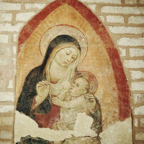 Religion Travel Destinations Architecture Cultural Art Traveling Photography Italy❤️ Crocefisso Tranquility Dipinto Beniculturali30 Day Low Angle View No People Close-up Architecture Outdoors Beniculturali Arte Madonna And Child Madonna Scenics Story Antico Madonna Con Bambino