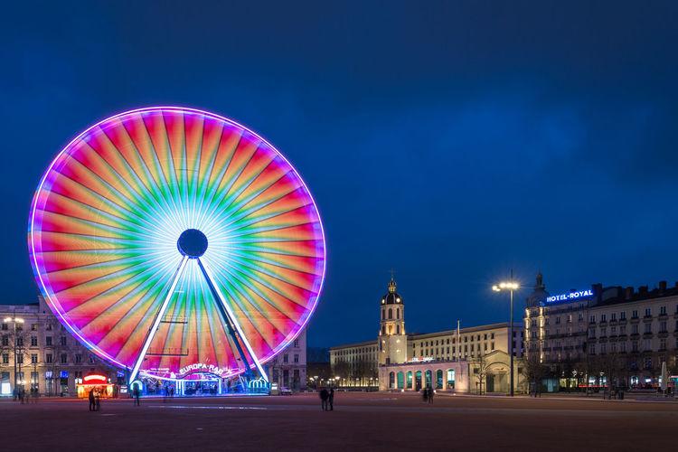 Blue Hour Lyon