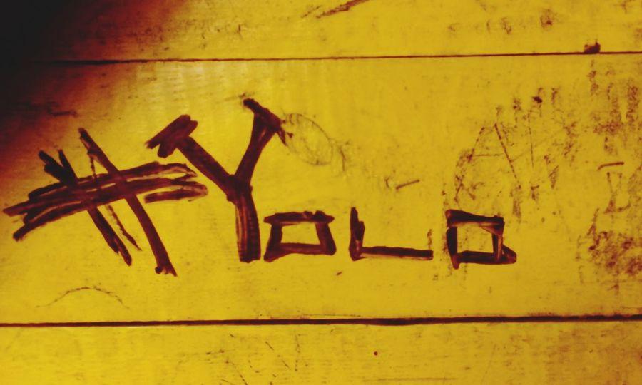YOLO ✌ Hehe ☺