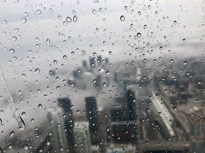 #CN Tower #rain