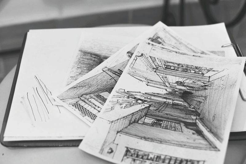 Sketching Sketches Blackandwhite Lines Drwing Artistic Artistic Expression Sketch Architecture Feeling Artistic Handmade Black & White Black White Gray Art Is Everywhere Break The Mold The Architect - 2017 EyeEm Awards
