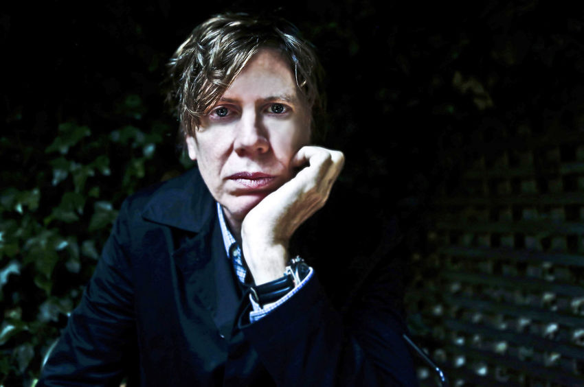 Blonde Guy Close-up Front View Hand On Chin Looking At Camera Middle Aged Man Music Portraits Musicians One Person Portrait Portrait Photography Sonic Youth Thurston Moore