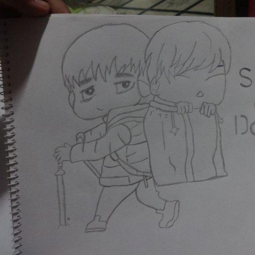 Riri And Dae ♥ Chibi Desung Seungri