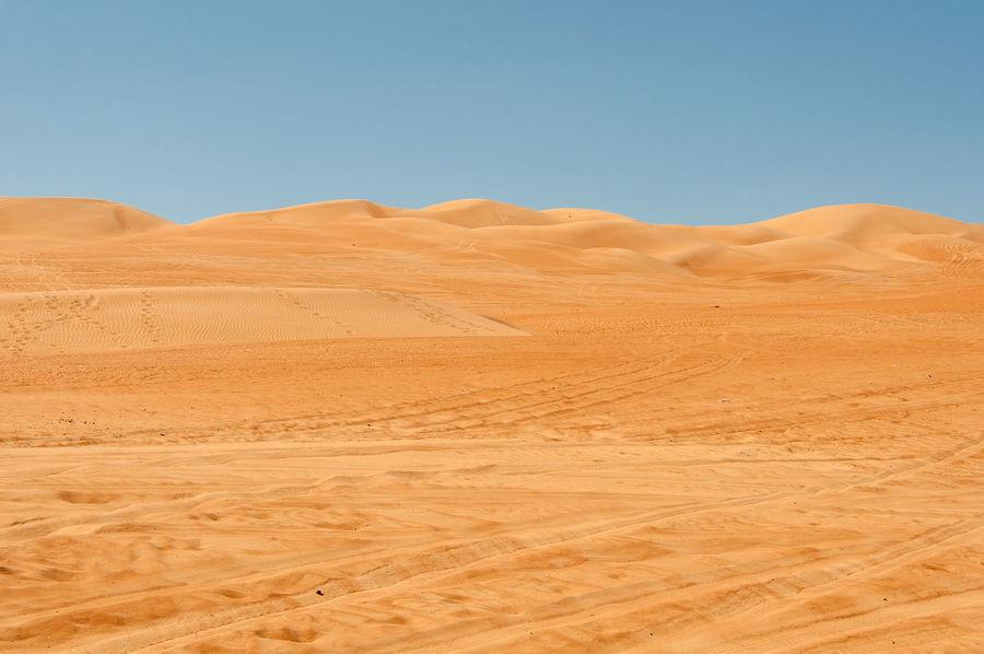 Oman desert Arid Climate Barren Desert Extreme Terrain Landscape Nature Oman Oman Desert Sand Dune Tranquil Scene The KIOMI Collection