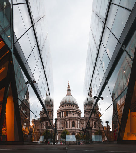 Built Structure Building Exterior Architecture Dome Sky Travel Destinations Travel Transportation City Tourism Religion Spirituality Place Of Worship Nature Belief Mode Of Transportation Building Day Outdoors No People Government St Pauls Cathedral London