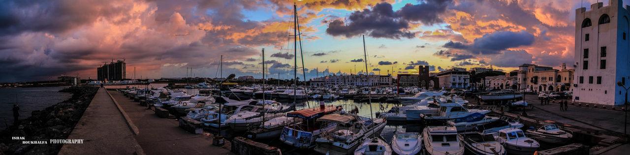 Of Algeria Panorama Port