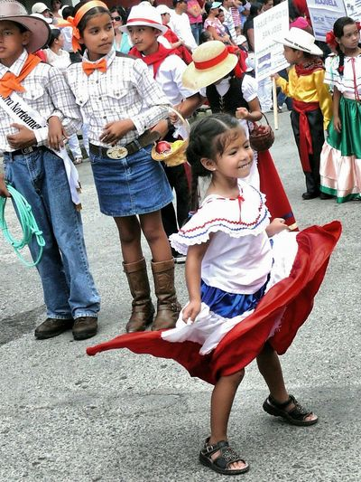 Capturing Freedom San Vito, Costa Rica Independence Day Independence Parade Children Of The World Costa Rica Little Girl Dancing Dancing Girl Pure Joy