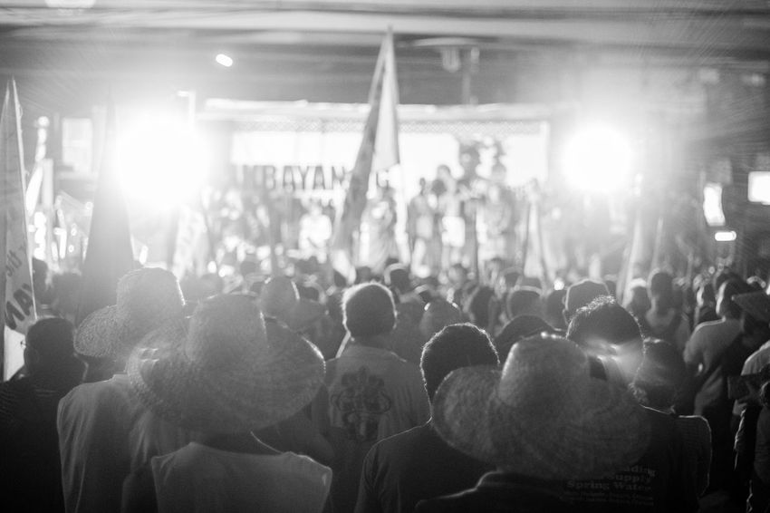 Indegenous people from provinces marched towards the metro to protest against the militarization of their land. Bnw Indegenous Indegenous Poeple Lumads Luzon Manila Metro Manila Philippines Pinoy Protest Rally