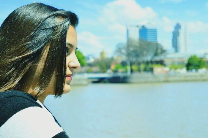 Sos tan lindo Buenos Aires 💕 Long Hair Beauty Reflection