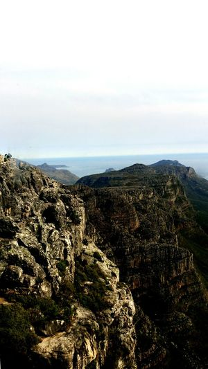 Table montain view in Cape Town