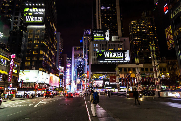 A view of Broadway. Broadway City City City Life Cityscape Cityscapes Manhattan New York New York At Night New York City New York City Life New York Street Photography New York ❤ New York, New York Night Lights Night Photography NYC NYC Photography Street Photography Streetphotography Streets Theater Travel Travel Photo Travel Photography