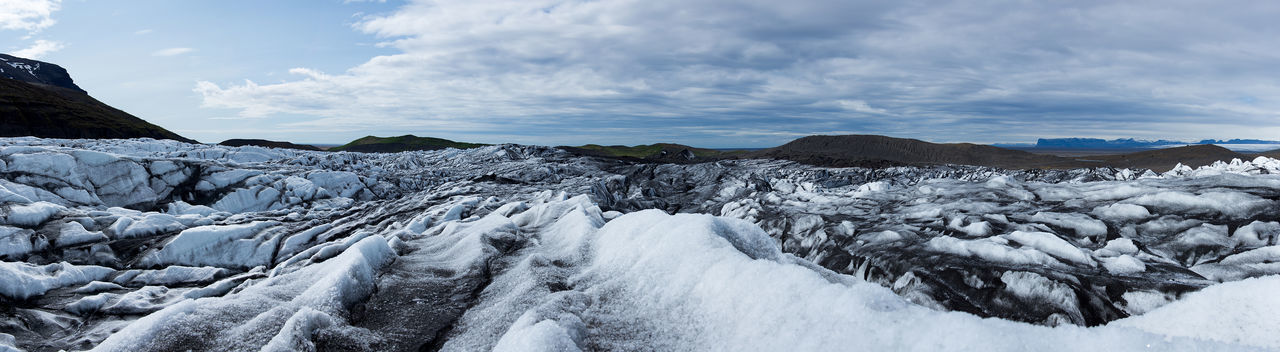 Skaftafellsjökull, glacier in Iceland Cloud - Sky Cold Temperature Glacier Glacier National Park Ice Iceland Landscape Outdoors Skaftafellsjökull Snow Landscape_Collection