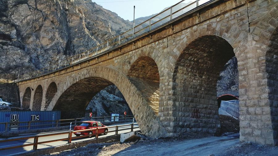Old Bridge in Veresk Iran Stone Bridge