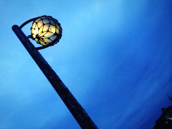 Streetlamp Light Glassfloat Sky