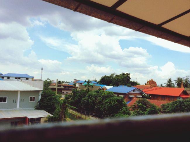 Near village.