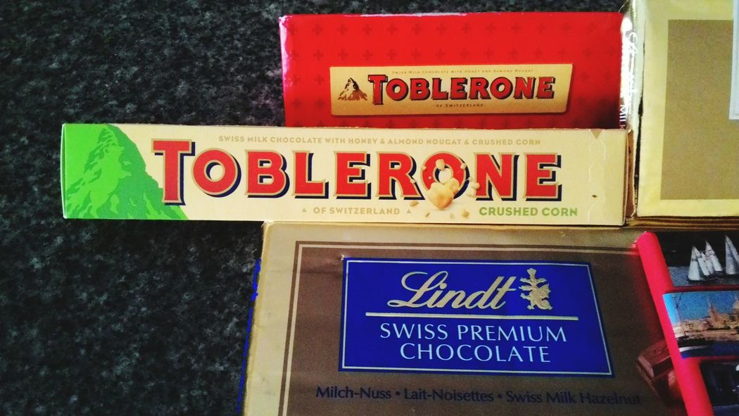Toblerone Chocolate♡ Crushed Corn Corn Why...? Ugh!