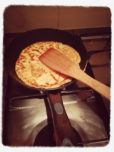 Making pancakes on pancake day xx