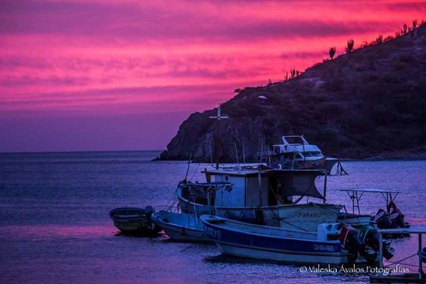 Taganga Colombia Caribe Sunset