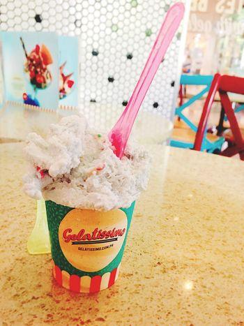 Gelato on a warm day Food And Drink Gelato Dessert Close-up Ice Cream Frozen Food Freshness Cold Treats