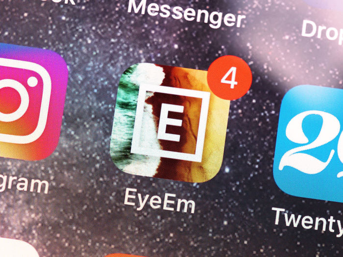 EyeEm mobole app Eyeem Mobile App EyeEm Mobile App Brand Close-up No People Technology Selective Focus EyeEm Logo Icon Smart Phone Smartphone Mobile Phone Macro Notification Social Media Photo Photography Community Marketplace Stock Photo Agency EyeEm App Editorial  Sharing  Apps IPhone