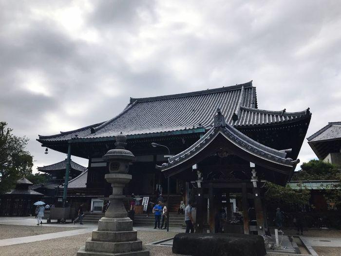 First Eyeem Photo 一心寺 Isshinji Osaka,Japan Japanesetemple Temple