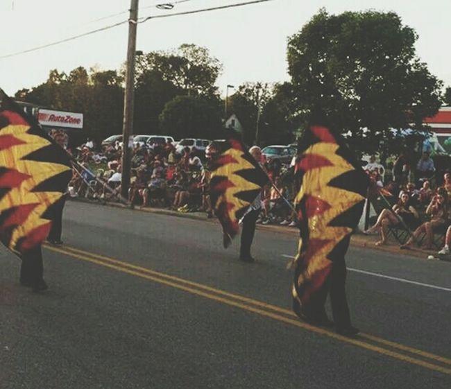 Colorguard Parade Love♡ Harvest Home Parade