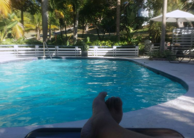 ...Pool... were I used to sneak in at night... ;))... I knew the owners.... ;))...(5/6) Pool Isla Culebra ,Puerto Rico