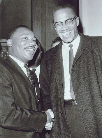 They stand up for what is right for our rights and also died for what they believe in and leave behind a legacy. Malcolm x and Martin Luther king Jr. Amazing