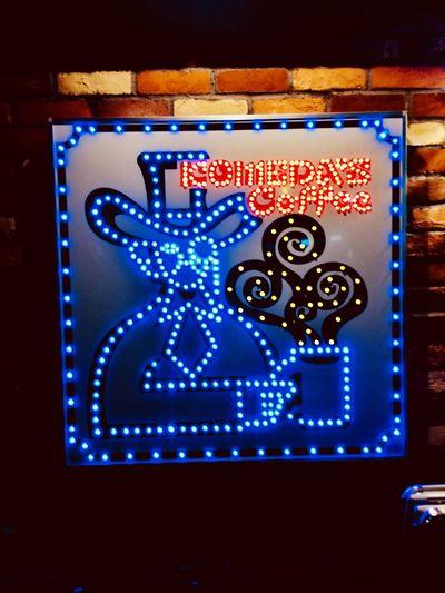 Hiratsuka station Technology Blue Communication Illuminated Indoors  Night No People