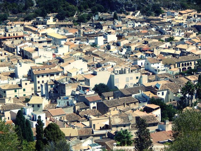 Mallorca Mediterran City High Angle View Roof Outdoors Built Structure Beautiful Side Of The World Mallorca