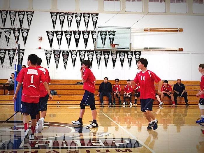 Working the court for a WIN! Number14 Warriors Redwoodeagles
