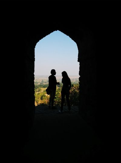 Two People Travel Destinations Togetherness Adult Friendship People Bonding Women Men Real People Sky History Travel MyClick Smartphonephotography Arch Onepluslife Oneplus X Cool waiting game EyeEmNewHere Welcome To Black The Secret Spaces The Great Outdoors - 2017 EyeEm Awards