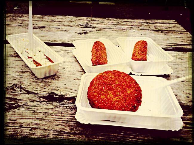 Dutch Food Snack Wood Enjoying Life Canteen Meals