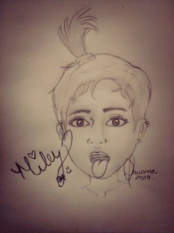 Drawing... Mileycyrus Miley Draw Drawing