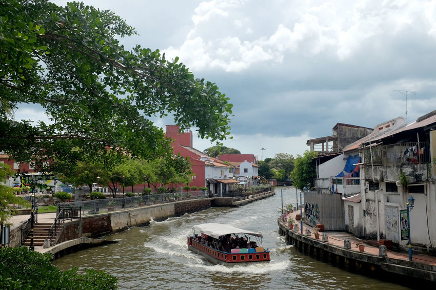 Melaka River Melaka Malaysia Vacations Heritage Riverside UNESCO World Heritage Site River Boat Water Nautical Vessel Architecture Tree Built Structure Building Exterior Cloud - Sky Plant Transportation Sky Canal Nature Mode Of Transportation Day Waterfront Motion Building Outdoors Passenger Craft No People