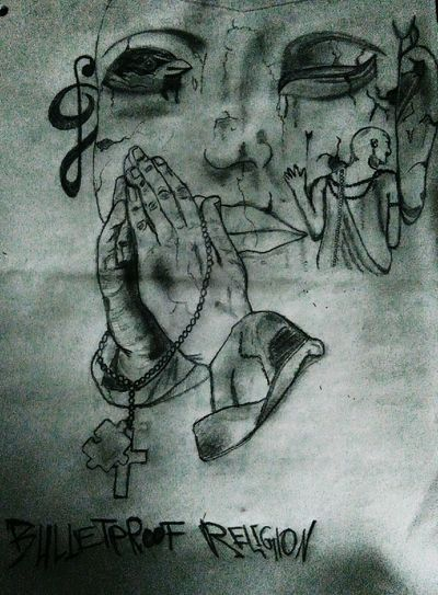 No People Praying Praying Hands Buddah Lean On Anlehnen Tut Gut Beten Zeichnung  Spatzen Spatz Auf Dem Dach Notenschlüssel Black And White Draw Drawing Draw By Me Schwarzweiß Hoffnung Bulletproof Religion Bulletproof Religion