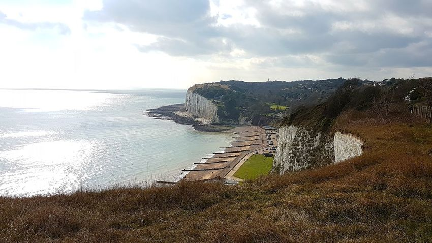 Cloud - Sky Sky Sea No People Scenics Outdoors Nature Kent Coast White Cliffs  The Great Outdoors Outdoors.